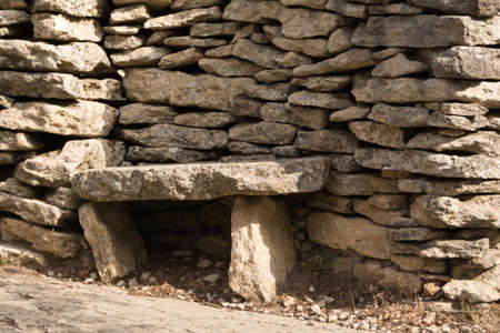 stone bench  in Provence