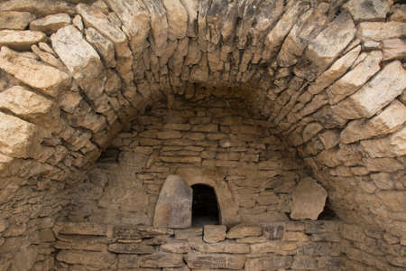 old stone bread oven