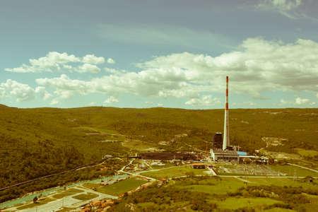 Fossiele Brandstofkolen die Elektrische Elektrische centrale, uitstekende verzadiging branden