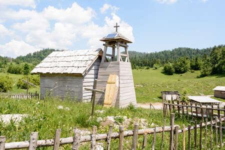 Abandonet wild west movie set , Croatia