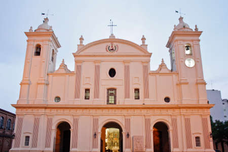 land locked: Catholic Cathedral in Asunci?n, Paraguay