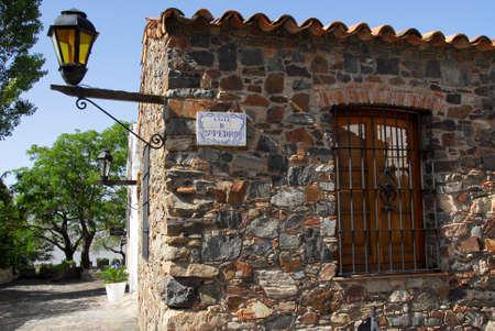 colonia del sacramento: A colonial stone house in Colonia del Sacramento, Uruguay Stock Photo