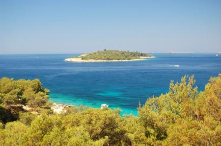 Island near Sibenik