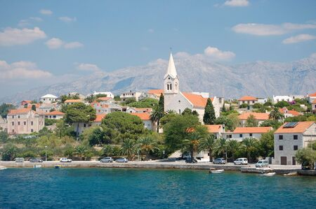 starigrad: Sumartin on Brac island in Croatia Stock Photo