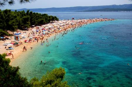 Gorgeous picturesque view on Golden Cape on Brac island, Croatia