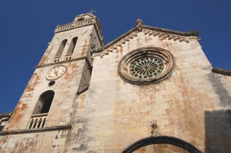 St  Mark s Cathedral in Korcula, Croatia Stock Photo