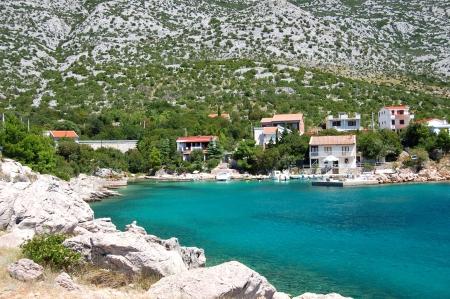 herrlich malerischen Sommerlandschaft der kroatischen Landschaft