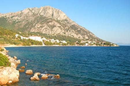 dalmatia: gorgeous summer landscape of dalmatia, croatia