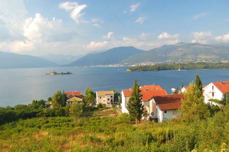 Superb picturesque scene of adriatic beach in Montenegro
