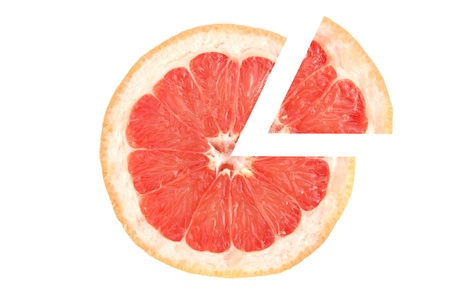 Grapefruit pizza photo
