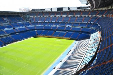 Madrid, Spain – August 25, 2012 : Santiago Bernabeu Stadium of Real Madrid.