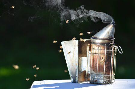 colmena: ahumador