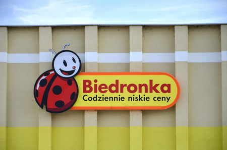 retailing: sign of Ladybug