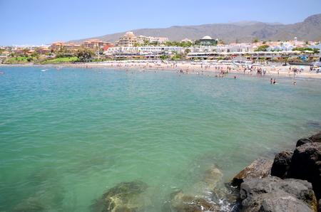 adeje: Beautiful Costa Adeje in Costa Adeje on Tenerife, Spain