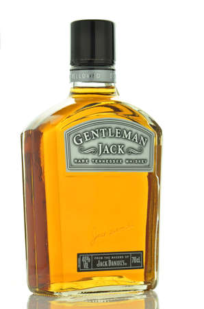 daniels: Gentleman Jack Rare Tennessee Whiskey isolated on white background