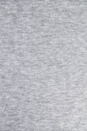 Texture of wool in a grey jersey