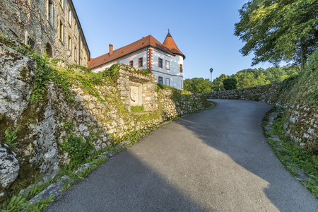Ozalj medival castle in town Ozalj, Croatia first mention of it dates from 1244