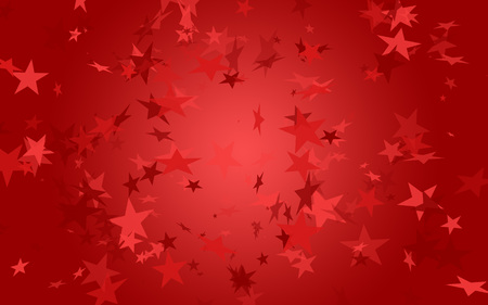 Red stars on red background