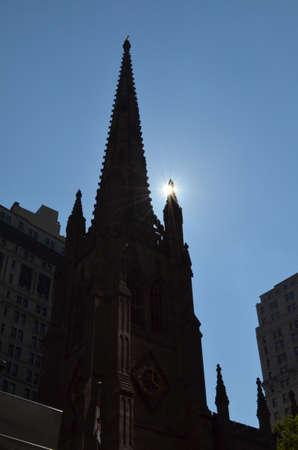 Dreifaltigkeitskirche (Manhattan) Standard-Bild - 93303972
