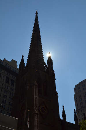 Trinity Church (Manhattan) Stok Fotoğraf
