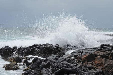 In der Nähe von Poipu, Kauai Standard-Bild - 93546751