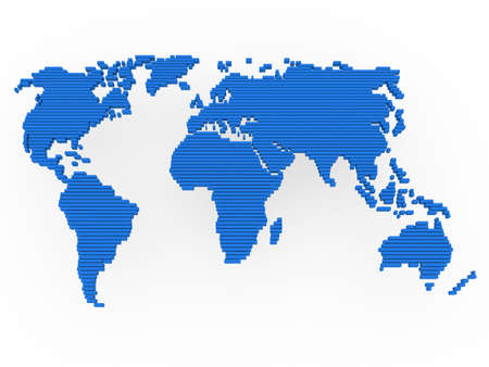 world, map , earth, europe, america, africa, blue photo