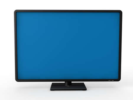 3d television lcd screen plasma black tv photo