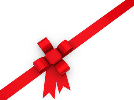 rote: 3d loop christmas red birthday gift ribbon