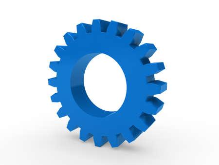 cogwheels: 3d gear blue machine wheel technology engine
