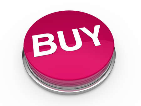 3d button buy pink press push click photo