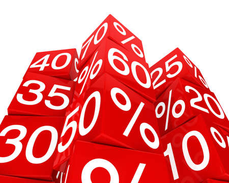 red dice: many red sale percent cubes high tower