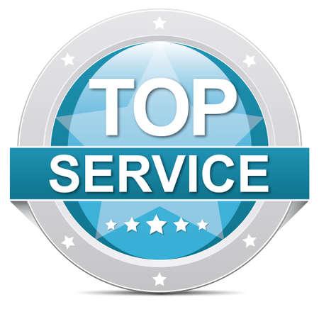 reachable: top service button