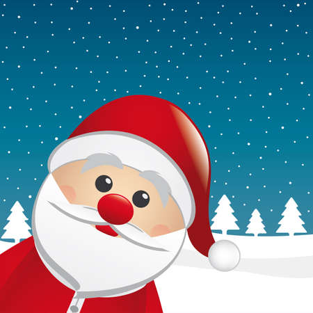 santa claus figure look from the side Stock Photo - 15343975