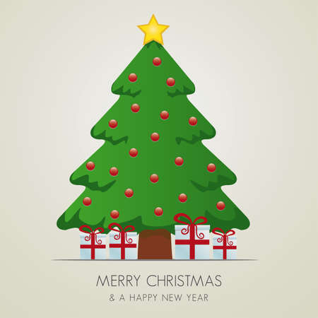 caja navidad: rojo, blanco, cajas de regalo merry christmas tree