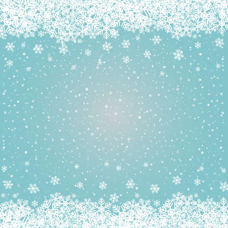snowball: fall snowflake snow stars blue white background