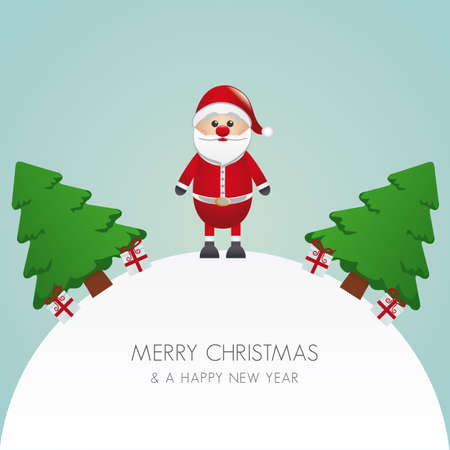 nosed: santa claus christmas tree and gift world
