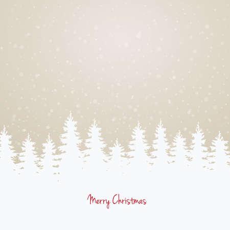 pinetree: �rboles de invierno y el cielo