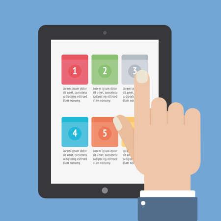 finger touch: finger touch tablet app screen