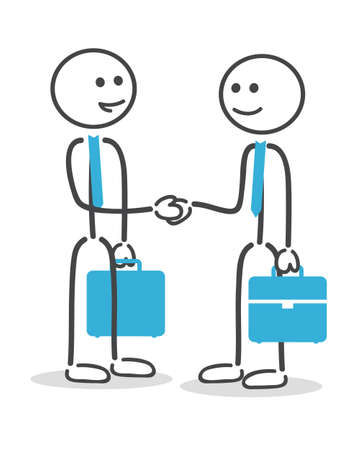 business people shaking hands: businessman handshake