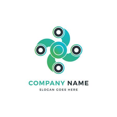 Fidget Spinner Logo Design