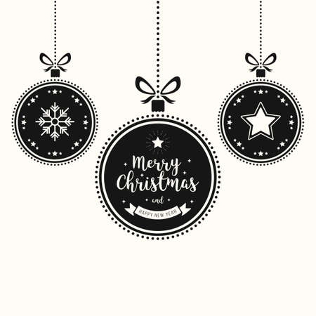 Christmas wishes ornaments baubles hanging