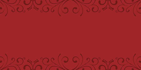 Elegant red background with ornaments decoration card element background Standard-Bild - 134618595