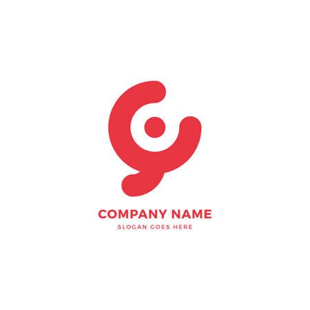 Creative vector logo icon design template. Abstract logotype concept element sign shape.