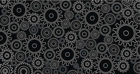 gears Stock Vector - 10806412
