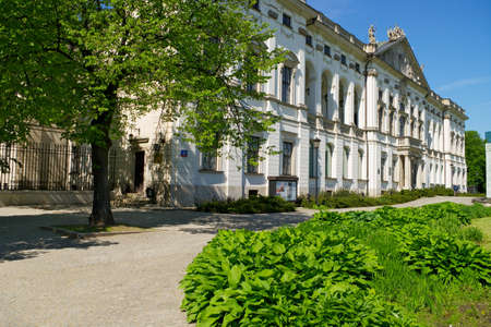 17th: Warsaw, Poland - May 6, 2014 : The Krasinski Palace in Warsaw.