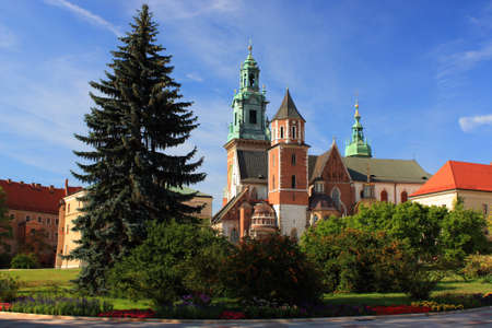 cracow: Wawel in Cracow, Poland Stock Photo