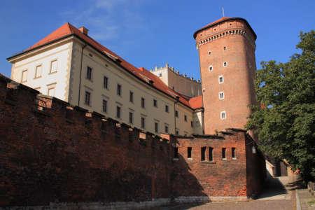 wawel: Wawel castle in Cracow, Poland.