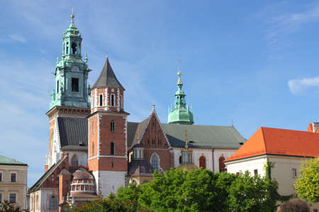 Wawel in Cracow, former capital city of Poland.   photo