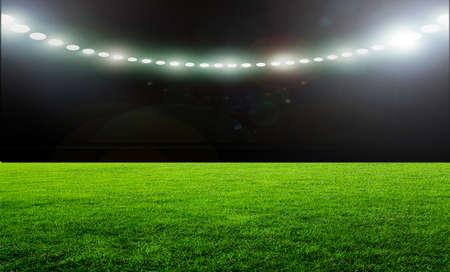 terrain de foot: Sur le stade. de football ou de soccer abstrait