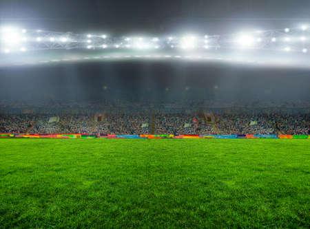 arbitro: En el estadio. abstractos de fútbol o fútbol fondos Foto de archivo